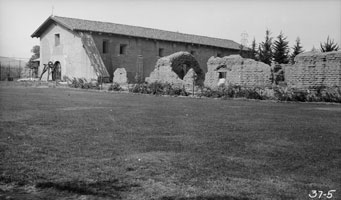 Mission San Fernando, April 1934