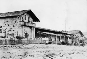 Mission San Francisco de Asis, c. 1860